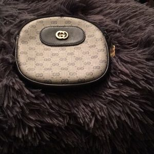 A vintage Gucci pouch no longer made by Gucci
